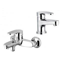Комплект смесителей для ванной ELGHANSA NORDIK 2323842 Set4 хром