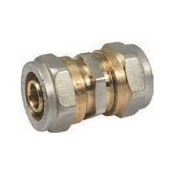 Соединитель для металлопластиковых труб 16 х 16 PROFACTOR