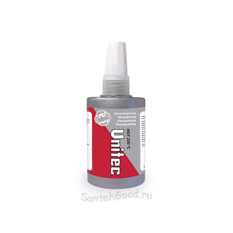 Герметик клеевой анаэробный Unitec Hot 75 мл. (UNIPAK)