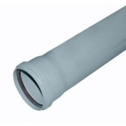 Пластиковая труба для канализации d-32 L 750мм