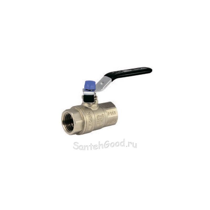 Кран шаровой усиленный 1″ внутр/внутр ручка-рычаг PROFACTOR