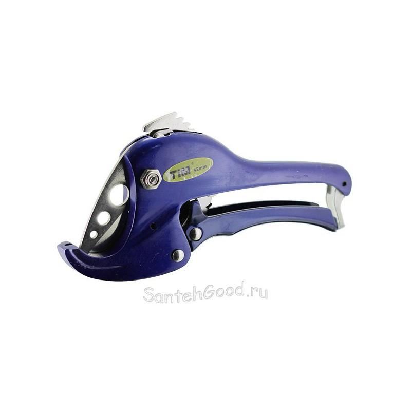 Ножницы для металлопластиковой и полипропиленовой трубы диаметром до 42 мм (синие) TIM