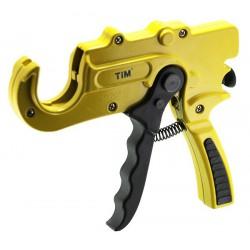 Труборез пистолет для пластиковых труб диаметром до 36 мм усиленный (желтый) TIM