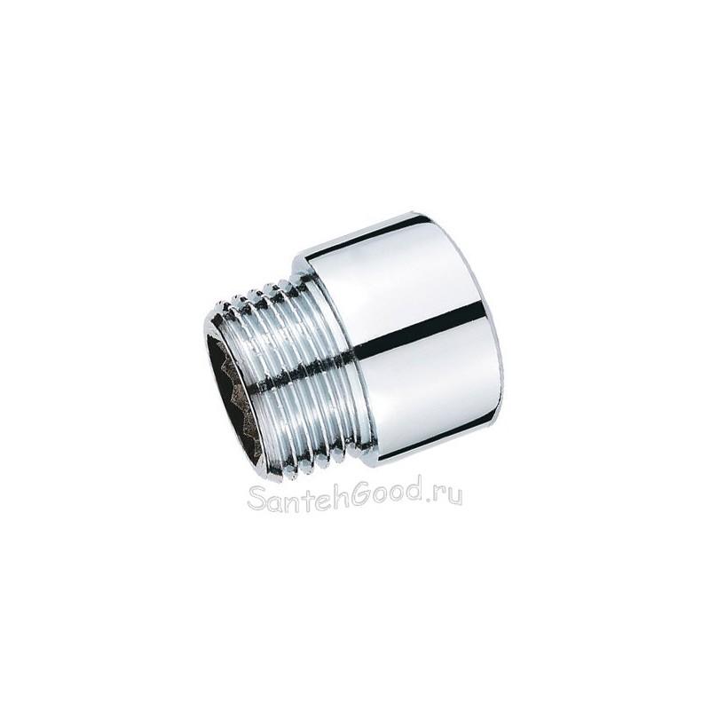 Переходник хромированный М22 внутр. х 1/2″ наружн. х 15 мм рус/имп PROFACTOR