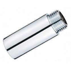 Удлинитель хромированный резьбовой 1/2″ х 90 мм PROFACTOR