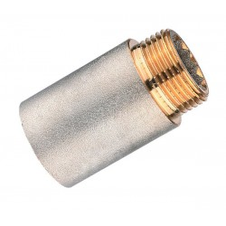 Удлинитель резьбовой никелированный 1/2″ х 90 мм (латунь) PROFACTOR