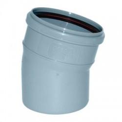 Отвод канализационный d-110 15°