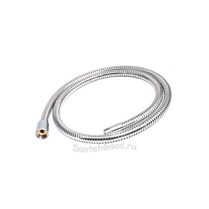 Шланг для душа 1,2 м вытяжной для смесителя металлический хром 0012 KAISER