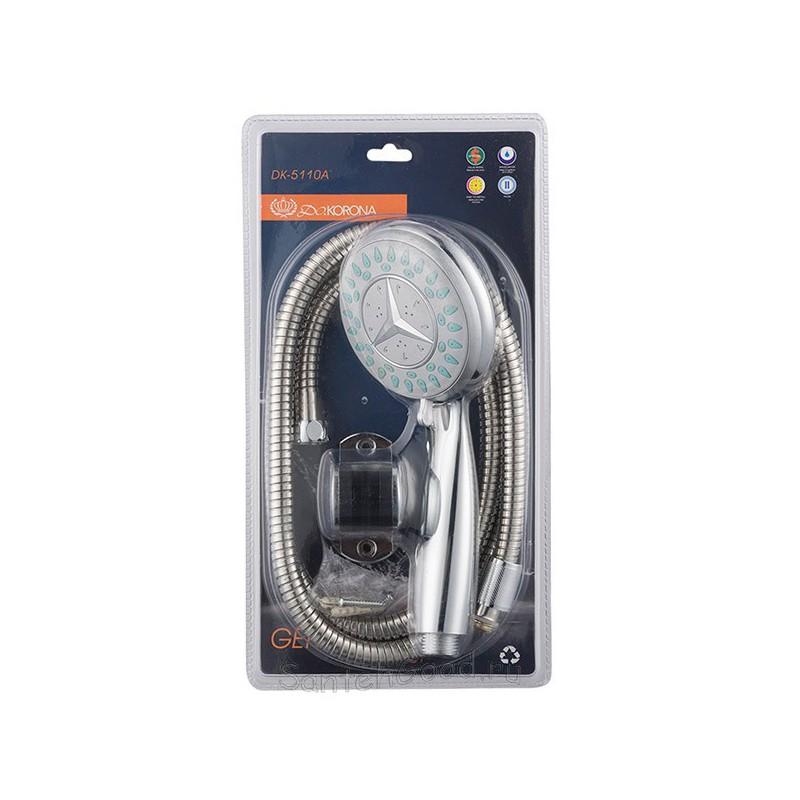 Душевой набор (шланг, лейка, кронштейн) DOKORONA DK-5110A