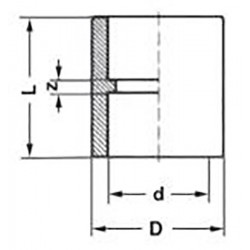 Муфта полипропилен PP-R d-25 мм Pro Aqua PA12010P - 01