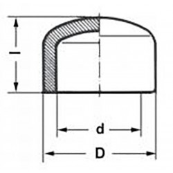 Заглушка полипропиленовая 20 мм Pro Aqua PA15008P - 01