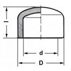 Заглушка полипропилен PP-R 50 мм Pro Aqua PA15016P - 01