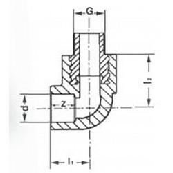 Уголок комбинированный PPR полипропиленовый наружная резьба 32 х 1/2″ Pro Aqua PA27015P - 01