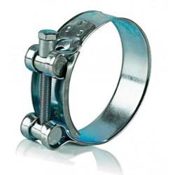 Хомут металлический силовой одноболтовый 68 - 73 мм Robust