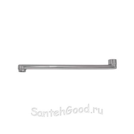 Излив для смесителя плоский L-400 мм (ванна)