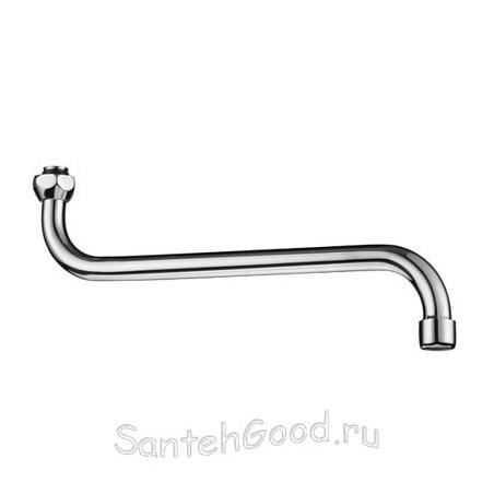 Излив для смесителя с аэратором (ванна d-24 мм L-330 мм)