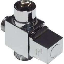 Дивертор для смесителя и душа шаровый 3/4″ х 1/2″ х 3/4″ EURO KAISER 318