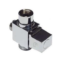 Дивертор для смесителя и душа шаровый EURO 1/2″ х 1/2″ х 3/4″ KAISER 319
