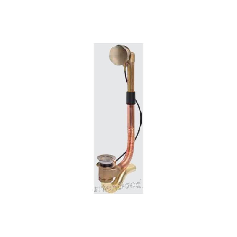 Обвязка для ванны полуавтомат латунь KAISER 8003 (бронза)
