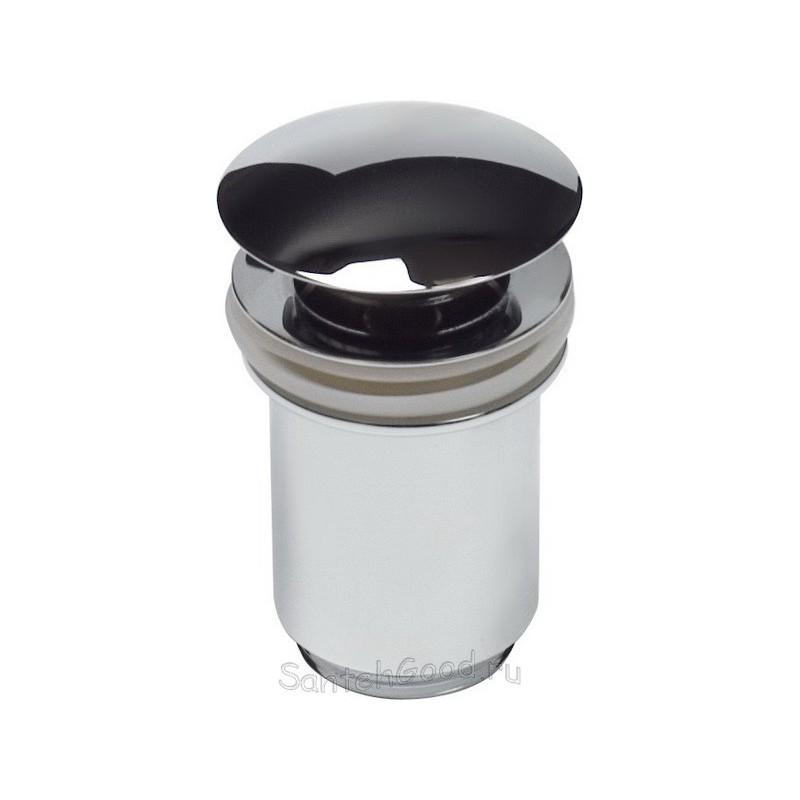 Донный клапан для раковины металлический автомат KAISER 8011 (хром)