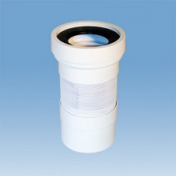 Гофра для унитаза McAlpine WC-F23R (230-570 мм)