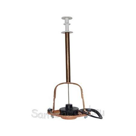 Колонка для бачка унитаза вертикальная латунь