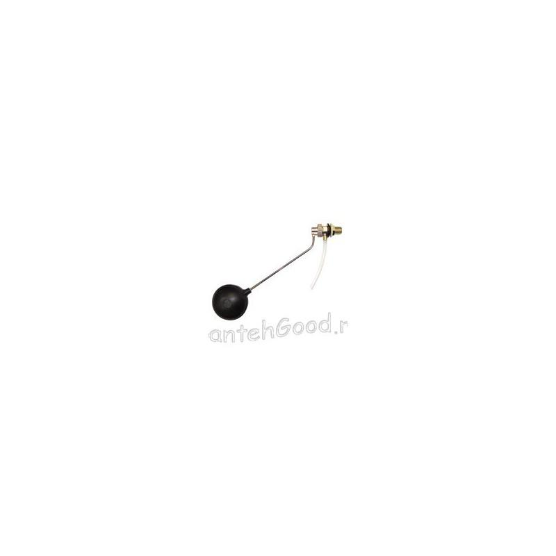Клапан впускной для бачка унитаза латунный с поплавком АМ