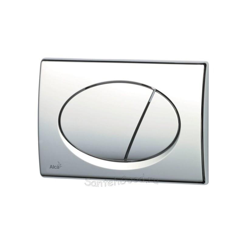 Кнопка управления встроенной системой инсталляции для унитаза ALCAPLAST M071