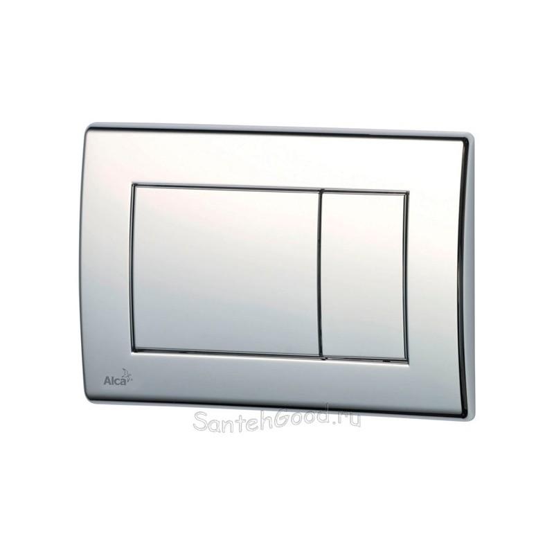 Кнопка управления встроенной системой инсталляции для унитаза ALCAPLAST M271