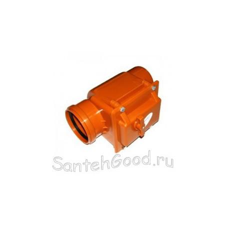 Обратный клапан для канализации d-110