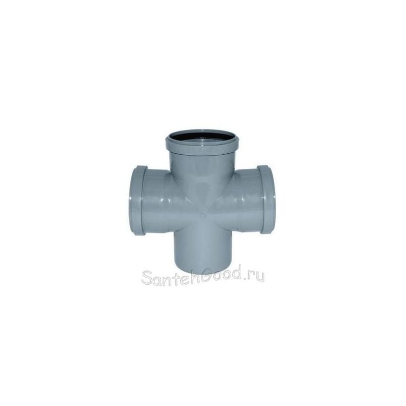 Крестовина для канализации ПВХ d-110х110х110 90°