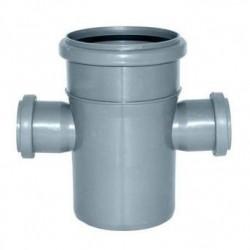 Крестовина канализационная ПВХ d-110х110х50х50 90°