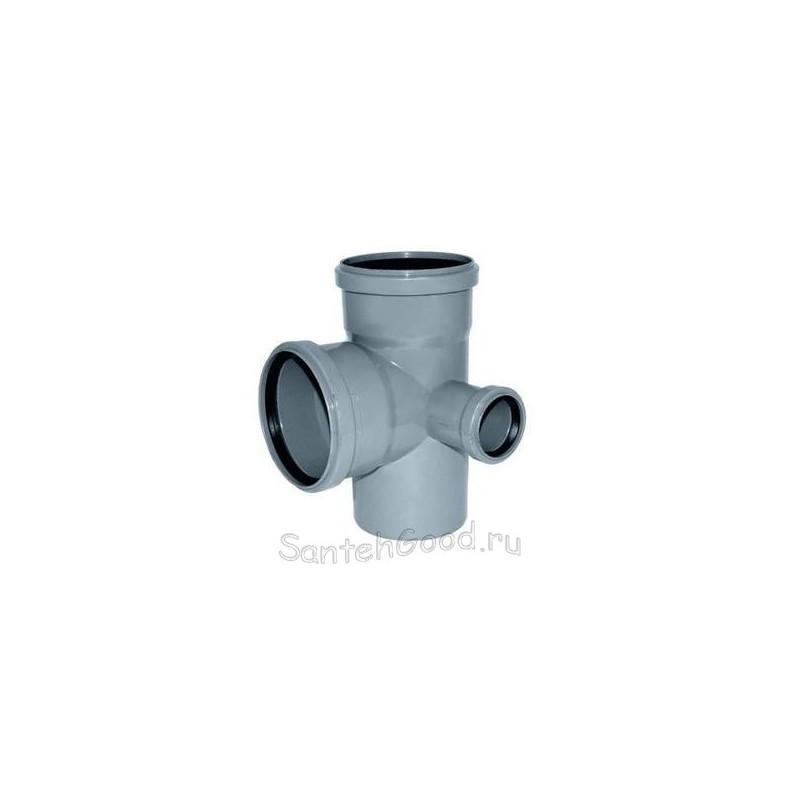 Крестовина для канализации ПВХ правая d-110х110х50 90°