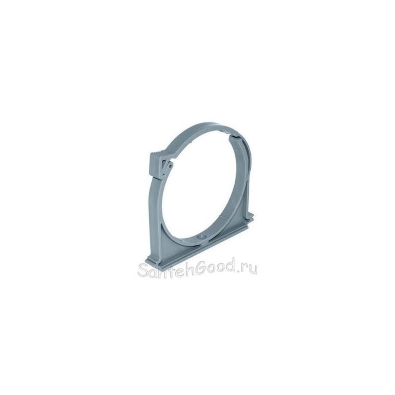 Хомут канализационный пластиковый для ПВХ труб d-40