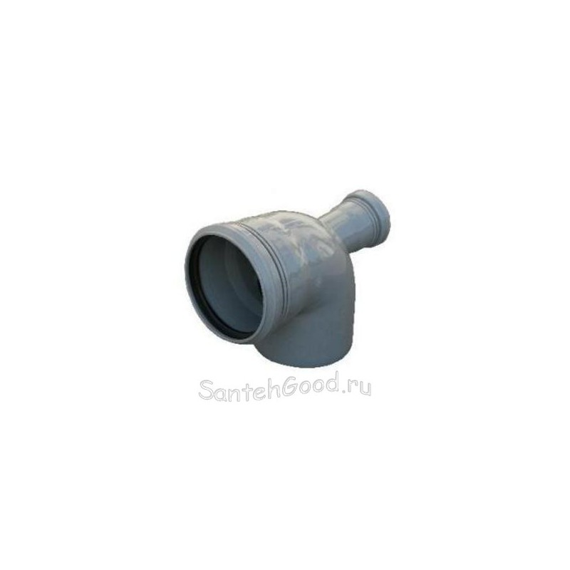 Отвод канализационный d-110х50 90° задний выход