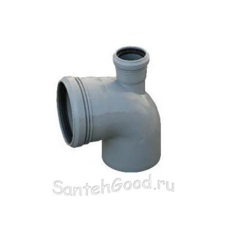 Отвод для канализации d-110х50 90° верхний выход