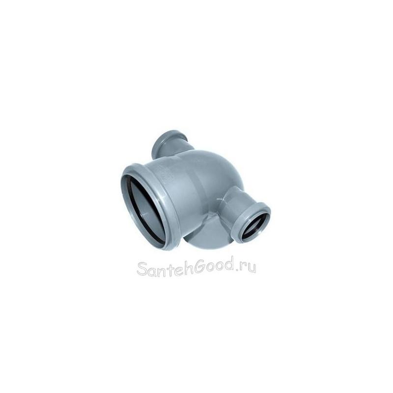 Отвод для канализации d-110х50 90° с двумя выходами