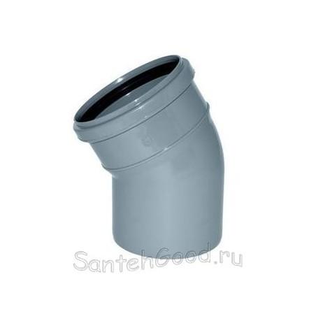 Отвод для канализации d-50 30°