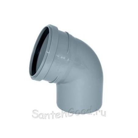 Отвод канализационный d-50 67°