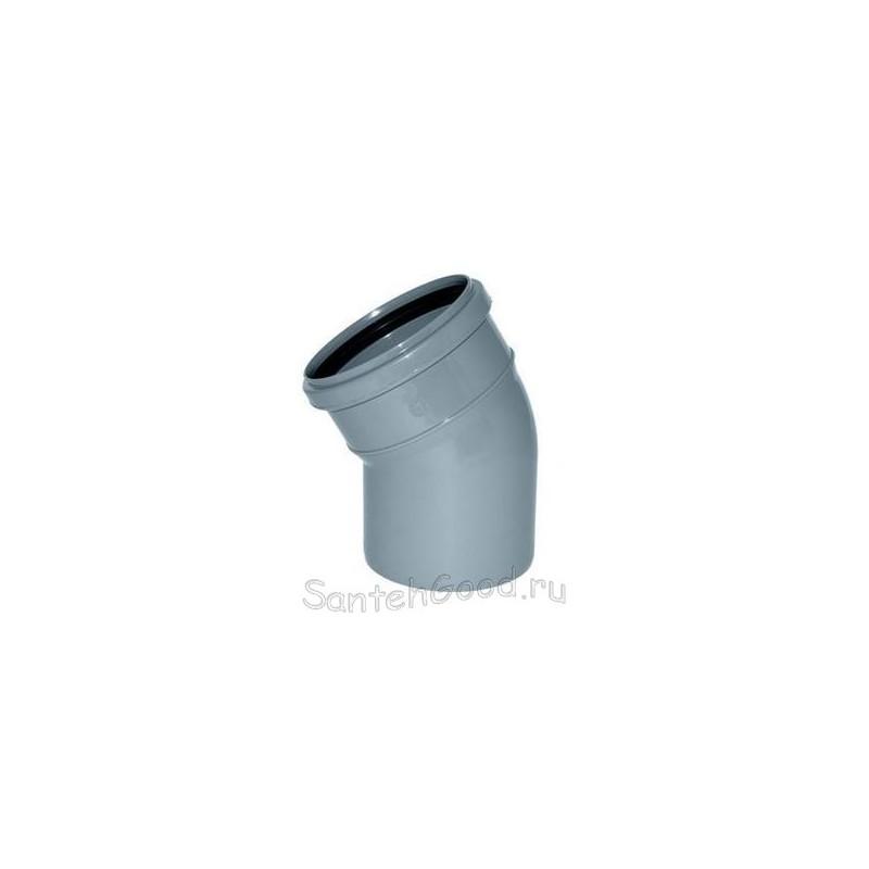 Отвод для канализации d-110 30°