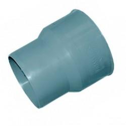 Переход ПВХ на чугун с пластика (тапер) канализационный d-110/124 без манжеты