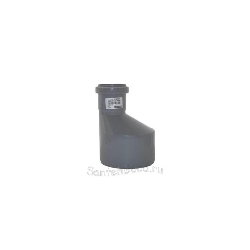 Переход ПВХ для канализации экcцентрический d-50/32