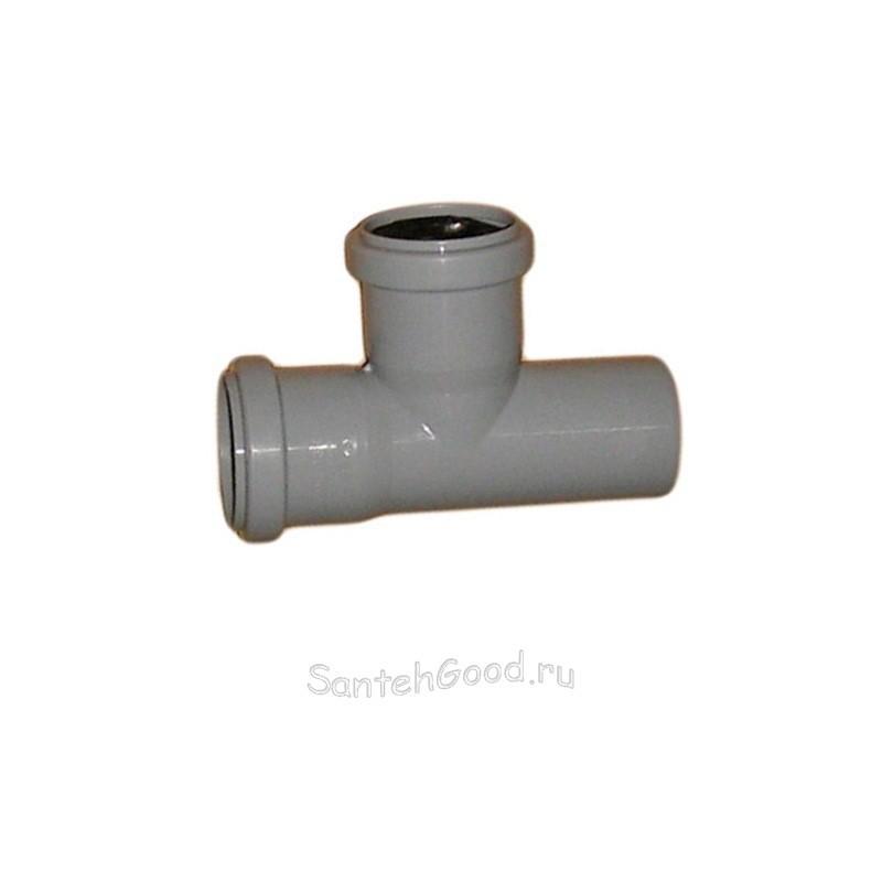 Тройник канализационный ПВХ d-50х40 90°