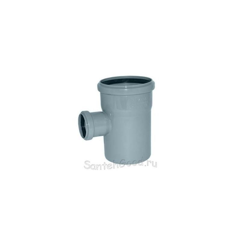 Тройник ПВХ для канализации d-110х50 90°