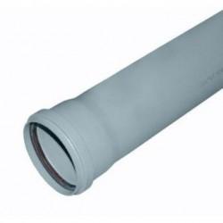 Труба канализационная пластиковая d-110 L 750мм