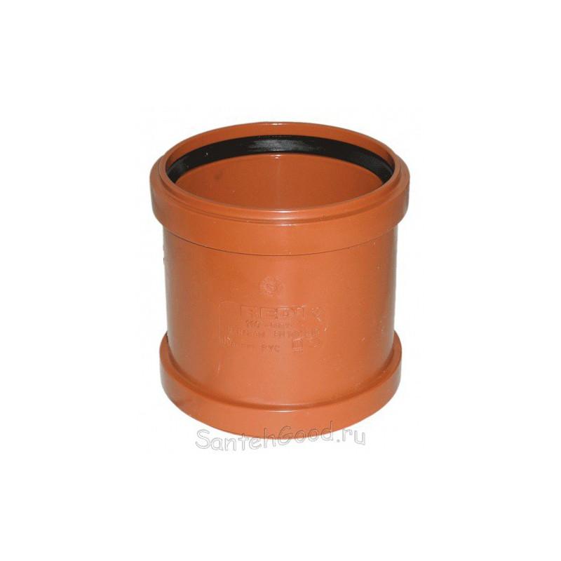Муфта ПВХ для наружной канализации d-110