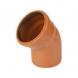 Отвод канализационный наружный d-110 45°