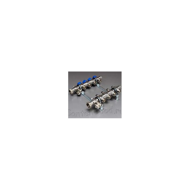 Коллекторная группа для присоединения радиаторов 1″ 2 выхода тип НК 53 HANSA