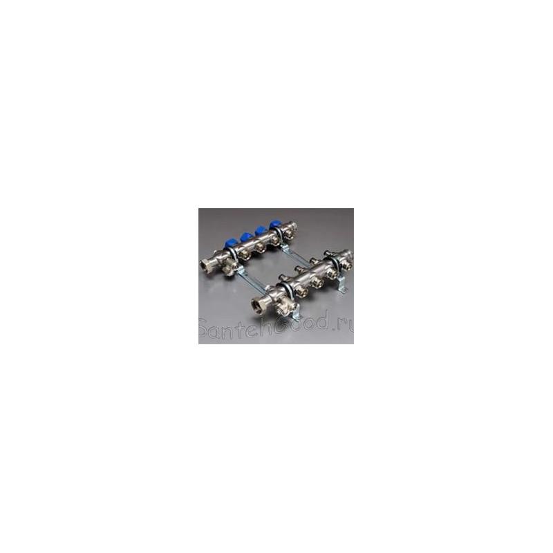 Коллекторная группа для присоединения радиаторов 1″ 6 выходов тип НК 53 HANSA