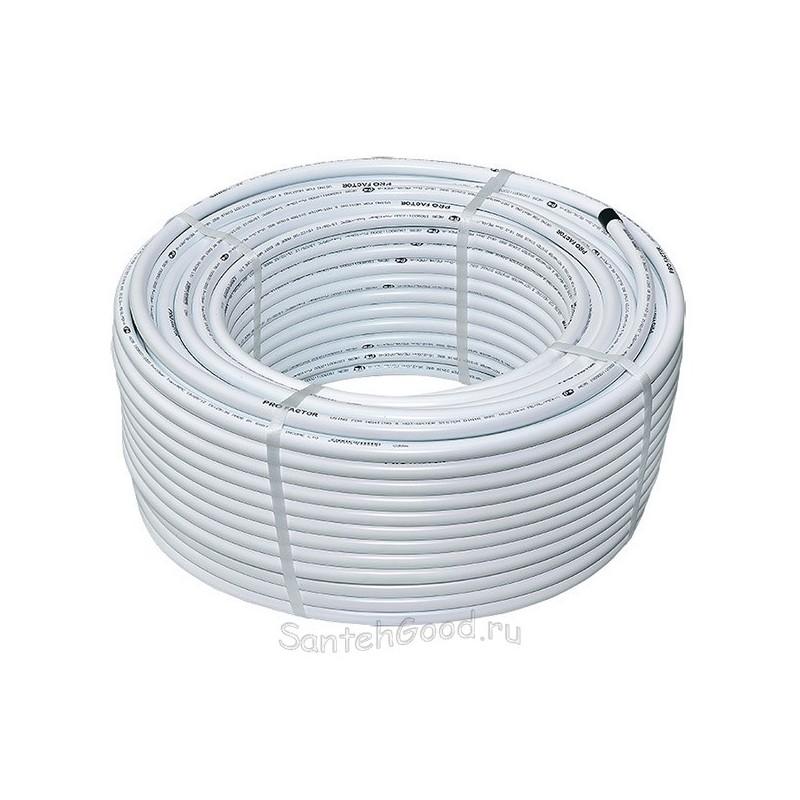 Металлопластиковая труба PEX-a-AL-PE d20*2 (бухта 100м) PROFACTOR